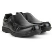 Hush Puppies DOMINIC SLIP ON Slip On Shoes For Men(Black)