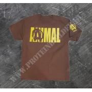 Animal 4 T-Shirt Brown