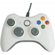 USB Con Conexión De Cable Gamepad Joystick Joypad Controller Asemeja XBox 360 Para PC Ordenador - Blanco