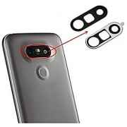 Replacement Parts Back Camera Lens Glass with Adhesive for LG G5 Black