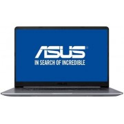"Ultrabook™ ASUS VivoBook S15 S510UN-BQ177 (Procesor Intel® Core™ i7-8550U (8M Cache, up to 4.00 GHz), 15.6"" FHD, 8GB, 1TB HDD @5400RPM, nVidia GeForce MX150 @2GB, Endless OS, Gri) + BullGuard Internet Security, 1an, 3 utilizatori, Attach Card"