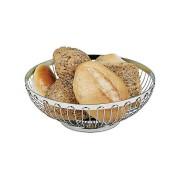Paderno Corbeille à pain 25 cm - Inox 18/8 - Corbeille - Paderno