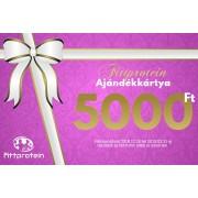Fittprotein Online Ajándékkártya Nőknek 5000Ft értékben