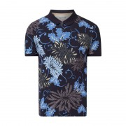 Pierre Cardin Poloshirt mit floralem Muster