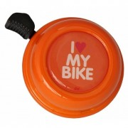 Liix - Liix Colour Bell I Love My Bike Orange