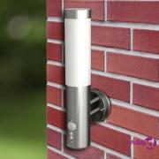 vidaXL Dvije zidne lampe sa senzorom pokreta 11 x 35 cm