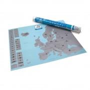 Harta scratching eu-fa un cadou o harta scratching ca inspiri pe cei din jurul tau sa descopere Europa