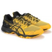 Asics GEL-SONOMA 3 G-TX Running Shoes For Men(Black, Yellow)