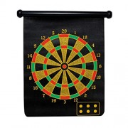 Magnetic Dartboard/2 Types Target Game/Calender Type/Easy to Handle/Multicolour