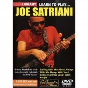 Roadrock International Lick Library: Learn To Play Joe Satriani DVD