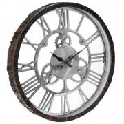 Ceas de perete din lemn Cronos