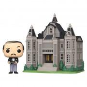 Pop! Vinyl Figurine Pop! Town Wayne Manor Avec Alfred - Batman