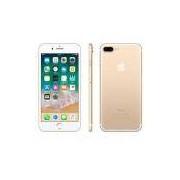 iPhone 7 Plus Dourado, com Tela de 5,5, 4G, 32 GB e Câmera de 12 MP
