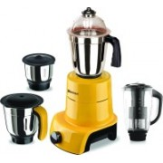 Sunmeet MG17-MAC-Gla-91 800 W Juicer Mixer Grinder(Yellow, 4 Jars)