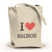 I Love Malinois Tygpåse