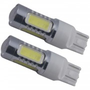 Set Becuri LED T20 cu 6 SMD Epistar si Cree, Lumina Portocalie