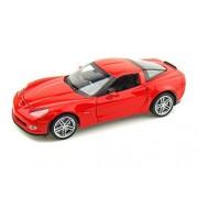 2007 Chevy Corvette Z06 1/24 Red