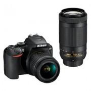 Nikon Aparat D3500 + Obiektyw AF-P DX 18-55mm VR + AF-P DX 70-300mm ED VR