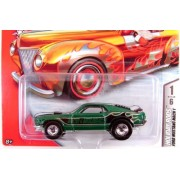 Hot Wheels 2007 Holiday Rods #1 Ford Mustang Mach 1 Green Limited Edition 1:64 Scale Collectible Die Cast Car