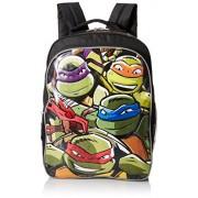 Teenage Mutant Ninja Turtles Boys' 16 Inch Backpack Lean Mean Green