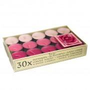 Lumanari Parfumate Trandafiri 30 buc