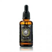 Azbane Pečující olej na vousy s arganovým olejem Tabák a pačuli (Beard Oil) 30 ml