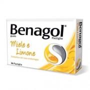 Reckitt Benckiser H.(It.) Spa Benagol Pastiglie Gusto Miele E Limone 36 Pastiglie