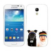 Husa Samsung Galaxy S4 Mini i9190 i9195 Silicon Gel Tpu Model Bebelus Si Caine Bandana