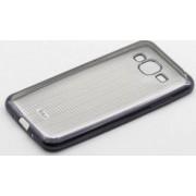 Skin Tellur Samsung Galaxy J3 2016 J320 Dungi Verticale Negru Transparent
