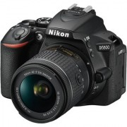 Nikon DX D5600 DSLR Camera AF-P 18-55mm VR Kit Lens (Black)
