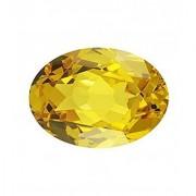 Jaipur Gemstone 7.50 carat yellow sapphire(pukhraj)