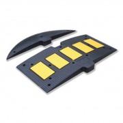 B2B Partner Zpomalovací práh, černá/žlutá