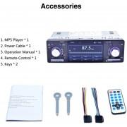 ER 4.1' Pantalla Táctil LCD HD Coche Reproductor MP5 1080P 7 Botón Color FM/AM/SINTONIZADOR RDS -Negro