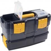 Artplast Plastikowe walizki na narzędzia z dodatkowym pojemnikiem