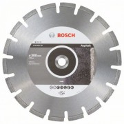 Диск диамантен за рязане Standard for Asphalt 300 x 20,00 x 2,8 x 10 mm, 2608603787, BOSCH