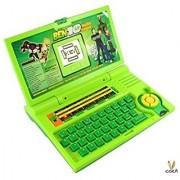 Ben 10 English Learner Laptop for Kids 20 Activities (Green)
