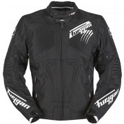 Furygan Hurricane Textile Jacket Black White M