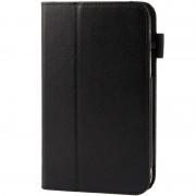 Samsung Lichi structuur Flip lederen hoesje met houder voor Samsung Galaxy Tab 3 (7.0) / P3200(zwart)
