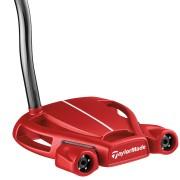 【TaylorMade Golf/テーラーメイドゴルフ】スパイダー ツアー レッド ダブルベンド / 【送料無料】