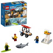 LEGO City Coast Guard Starter Building Blocks for Kids 5 to 12 Years ( 76 Pcs) 60163