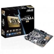 Placa de baza asus H110M-A / M.2 / CSM, H110, DDR4, SATA3, M.2, USB 3.0, uATX (90MB0R60-M0EAYC)