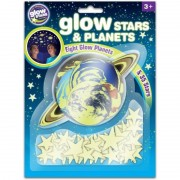 Stele si planete fosforescente The Original Glowstars Company, Multicolor