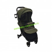 Cărucior sport ultracompact Baby Care S 600 Verde Kaki