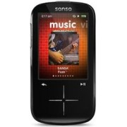 MP3 Player SanDisk SDMX20R-004GK-E57 Sansa Fuze+ 4GB Black