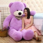4 feet Purple Huggable And Loveable For Someone Special Teddy Bear