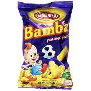Osem botanas de mantequilla de cacahuete Bamba todos naturales de mantequilla de cacahuete PB, bolsa de 1.0 oz (paquete de 24)