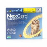 Nexgard Spectra Small Dog 3.5 - 7.5 kg 6 Pack