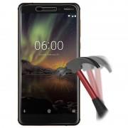 Protetor Ecrã em Vidro Temperado para Nokia 6.1 - 9H - Transparente