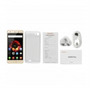 "OUKITEL K4000 Plus 5""HD 4100mAh 2GB+16GB 1.3GHz Quad-Core Teléfono Dorado Enchufe UK"