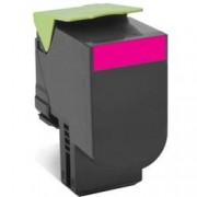 ORIGINAL Lexmark toner magenta 80C2HM0 802HM ~3000 Seiten cartuccia di stampa riutilizzabile